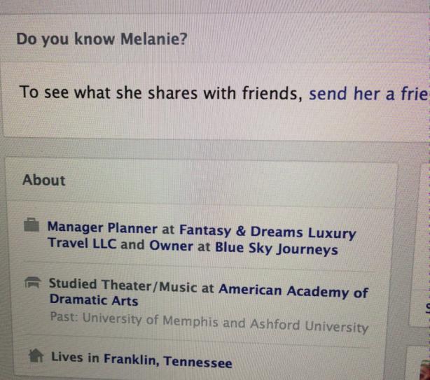 BSJ Melanie Facebook