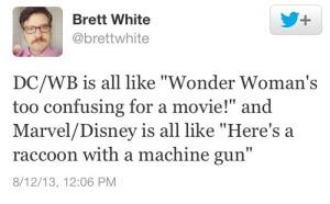 brett white Marvel:DC