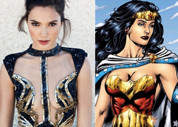 Gal Gadot and Wonder Woman